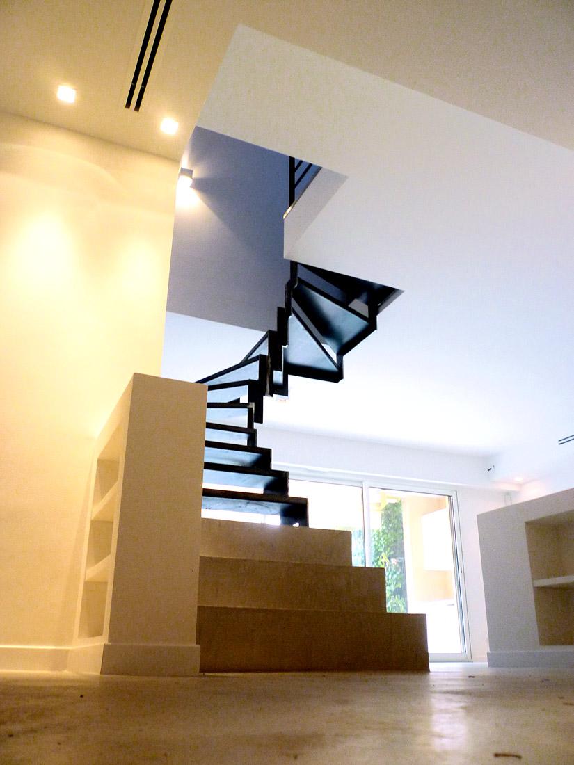 architecte-antibes-renovation-escalier-appartement